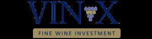 Vin-X fine wine investment company logo