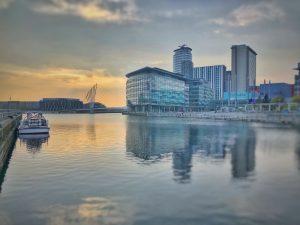 Media City, Manchester, England