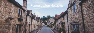 Where are the top repossession hotspots in the UK?
